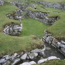 Stone Houses in an ancient settlement, Clickimin Broch