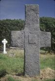Ancient cross at Kilmalkedar Church