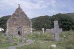 Romanesque church at Kilmalkedar, Dingle Peninsula, Ireland