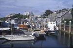 Fishing boats in the harbor of Menemsha, Martha's Vineyard, MA