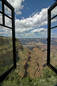 Window vista from the Kolb Studio house, Grand Canyon National Park