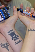Diabetic tattoos