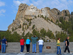 Mount Rushmore visitors center, South Dekota