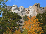 Presidents at Mount Rushmore, South Dekota