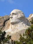 George Washington, Mount Rushmore South Dakota