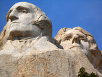 George Washington and Thomas Jefferson Mount Rushmore, South Dakota