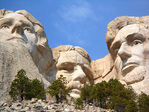Thomas Jefferson, Theodore Roosevelt, Abraham Lincoln Mount Rushmore South Dakota