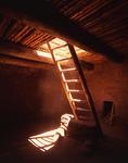 Kiva ladder, Pecos National Monument, Pecos, New Mexico