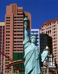 Rollercoasting by the Statue of Liberty, New York-New York Hotel Casino, Las Vegas, Nevada