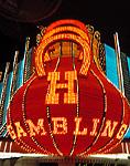 Neon marquee on Fremont Street, Las Vegas, Nevada