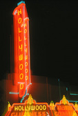 Neon marquee, Hollywood, California