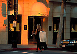 Shopping on Rodeo Drive, Beverly Hills, California