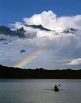 Kayaking off Playa Buenaventura, in Bahia Concepcion, Sea of Cortez, Baja California Sur, Mexico