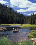 Day-rafting the Truckee River, California