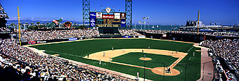 At & T Park, San Francisco, California