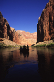 Rowing the Colorado River in Grand Canyon National Park, Arizona