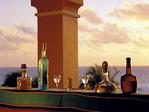 A Gourmet Tequila Sunrise, Ritz Carlton Hotel, Cancun, Mexico