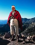 Julio, a Tarahumara dancer, near his home in Copper Canyon, Mexico