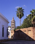 Quiet afternoon in the silver city of Alamos, Sonora, Mexico