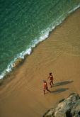 Couple on Playa Condesa, Acapulco, Mexico