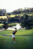 Golfing at the Fairmont Southhampton Hotel, Bermuda
