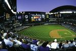Diamondbacks baseball at Chase Field, Phoenix, Arizona