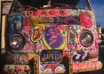 'Peace' van, Haight-Ashbury District, San Francisco, California