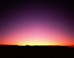 Desert skyline afterglow, enhanced by atmospheric pollution from the eruption of Mt. Pinatubo, Utah