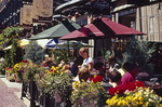 Alfresco dining, Yaletown district, Vancouver, British Columbia, Canada