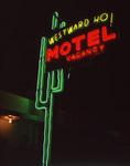 Vintage neon, Old Route 66, Albuquerque, New Mexico