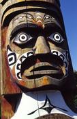 Totem Pole by Robert Cook, Eastsound, Orcas Island, San Juan Islands, Washington