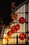 Chihuly Glass on permanent display, Union Station, Tacoma, Washington