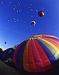 Mass ascencion, International Balloon Fiesta, Albuquerque, New Mexico
