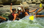 River guides take a rapid break, Green River, Utah