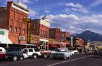 Main Street of Livingston, Montana