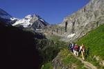Hiking from Obersteinberg Hut, Bernese Oberland, Switzerland