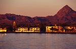 Sunrise light on Loreto, Baja California del Sur, Mexico