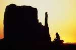 Shooting sunrise at Monument Valley, Arizona