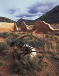 Stabilized adobe walls, Fort Bowie National Historic Site, Arizona