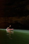 Kayaking in Cathedral In The Desert, Escalante Arm of Lake Powell, Utah