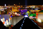 Luxor and The Strip, viewed from MIX Restaurant atop THE Hotel at Mandalay Bay, Las Vegas, Nevada