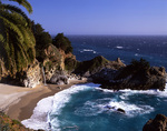 Pacific Falls and McKay Cove, Julia Phieffer Burns State Park, California