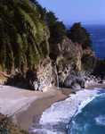 Pacific Falls and McKay Cove, Julia Phieffer Burns State Park, Big Sur, California