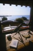 Pacific Ocean Room at The Darling House B & B, Santa Cruz, California