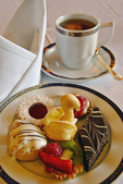 High Tea treats on the Oosterdam, Holland America Line, Alaska