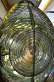Fresnel lens, Valdez Historical Museum, Valdez, Alaska