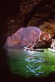 Kayaking in Emerald Cave, Colorado River, Black Canyon, Lake Mead NRA, Arizona