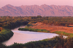 Colorado River, late afternoon, Yuma, Arizona