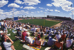 Spring training baseball at Tempe Diablo Stadium, Tempe, Arizona