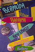 Signs of paradise, Key Largo, Florida